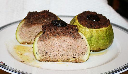 Con syl in cucina zucchine tonde ripiene for Cucinare zucchine tonde