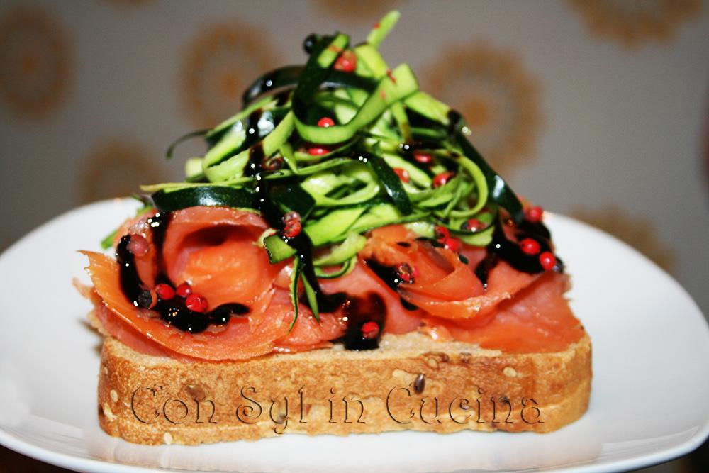 sandwich salmone
