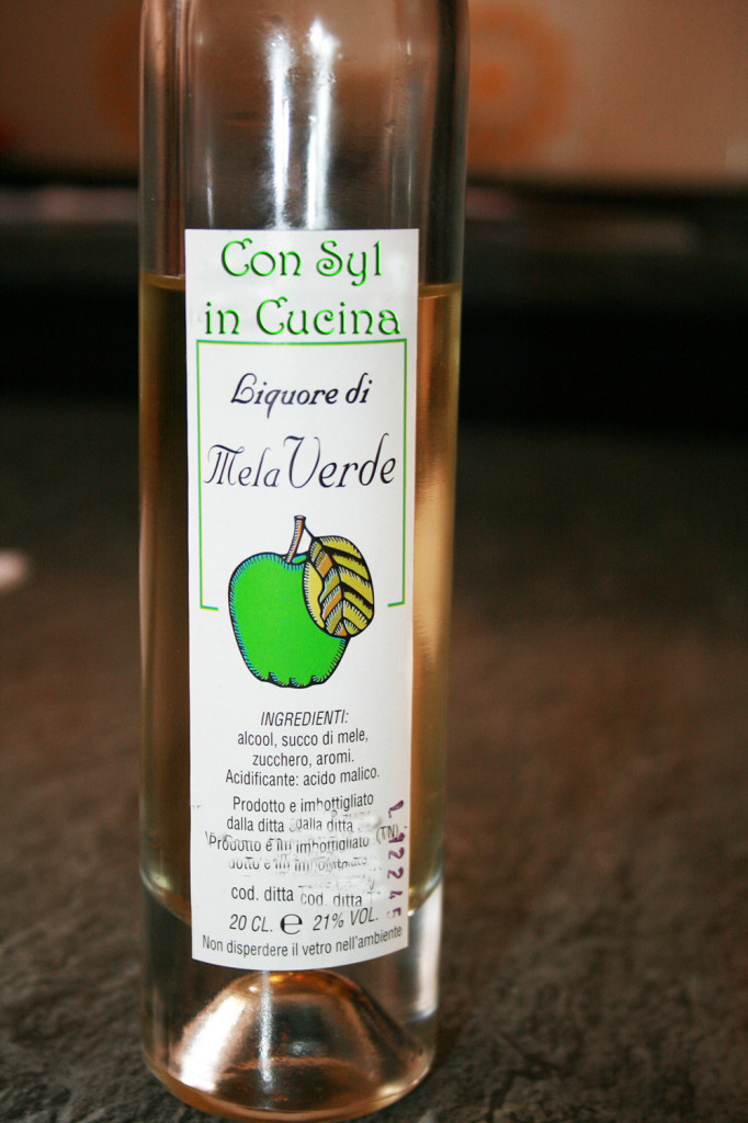 filetto al liquore di mele