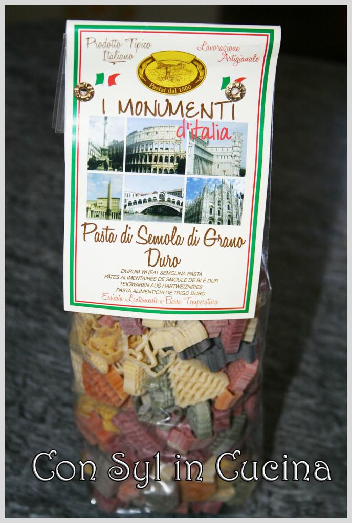 monumenti di pasta