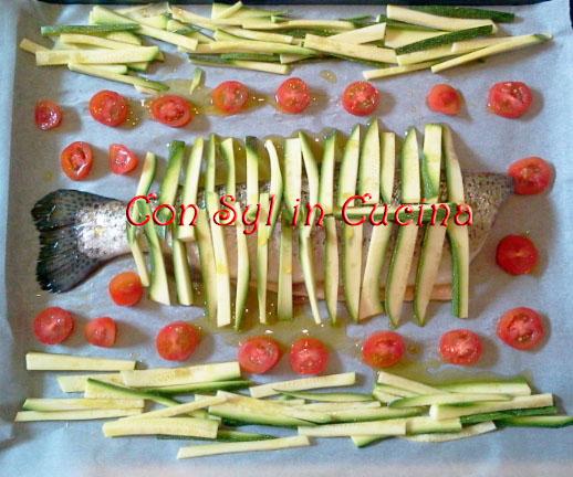 Branzino ricetta orientale