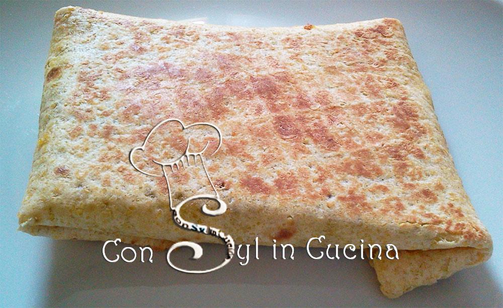 Tortillas con cavolo formaggio e miele