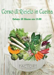 Con Syl in Cucina Corso di Riciclo in cucina - Con Syl in Cucina